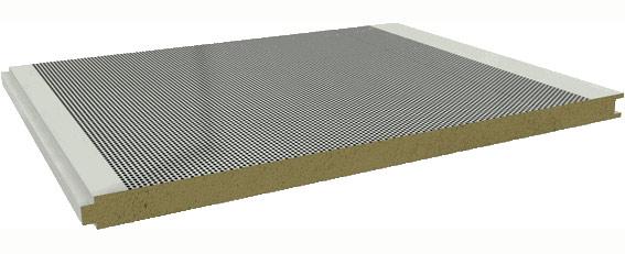 Panel lana de roca sound