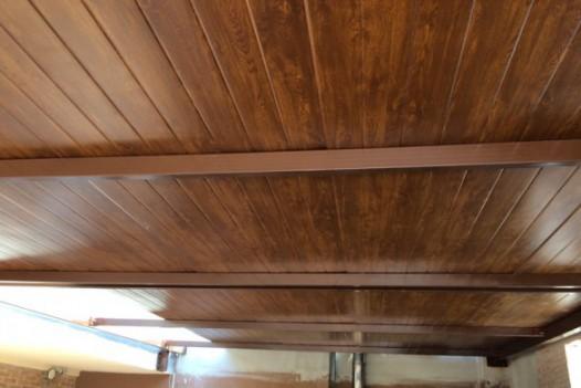 Panel tj acabado madera
