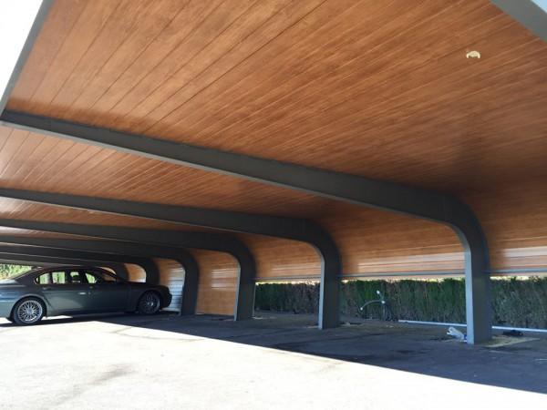 panel fahcada acabado madera